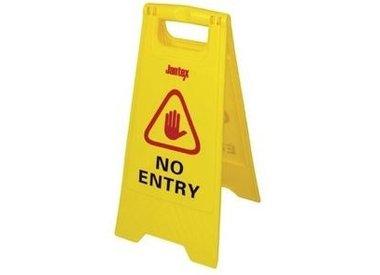 Warnschilder für nassen Boden