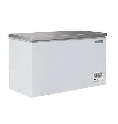 XXLselect Tiefkühltruhe mit Edalstahldeckel | 385 Liter | 688X1395X845(H)MM