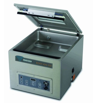 Henkelman Vakuummaschine Boxer 42 XL ESD | Henkelman | 15-35 Sek. | Abm. Kammer: 460x420x120(h)mm