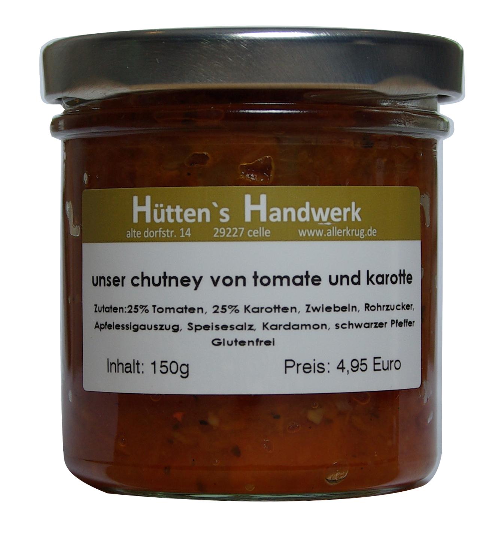 Tomate Karotten Chutney