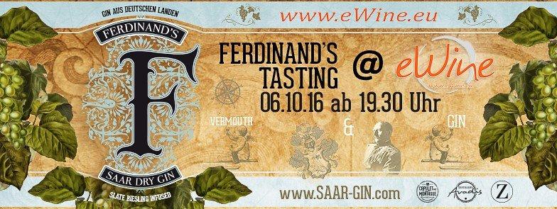 Ferdinand's Vermouth & Gin Tasting