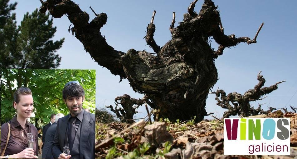 Vinos Galizien mit Diana & Luis Souto Méndez