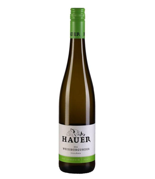 Weingut Hauer Weissburgunder trocken 2016