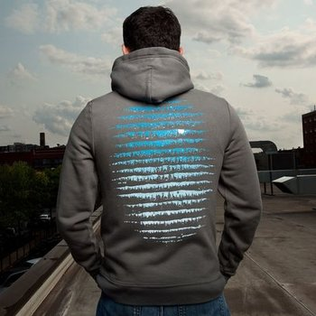 Threadless Moon Hoodie