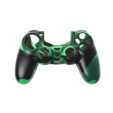 Silicone bescherming PS4 controller Army