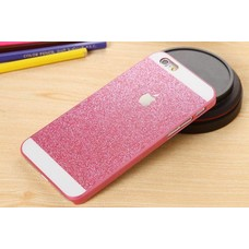 Iphone 6 Glitter soft silicone hoesje Roos