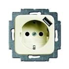 Busch-Jaeger wantcontactdoos met USB 20 2011-0-6156