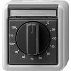 Gira timer 120 minuten spatwaterdicht in complete behuizing 032130