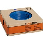 Lapp VDS ( soepel ) 4 mm2 blauw ring 100 meter