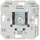Gira Universeel-dimmer-basiselement met druk-/draaischakelaar 2 50 – 420 W/VA