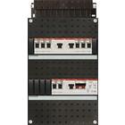 ABB 1-Fase 3 aardlekschakelaars + beltransformator 8 groepen HAD333332-222T+H42