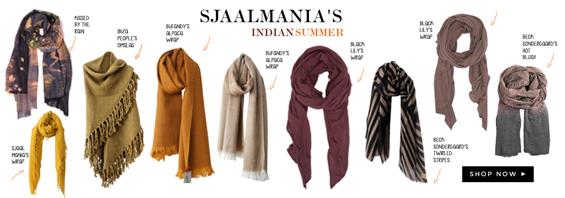 indian summer sjaals