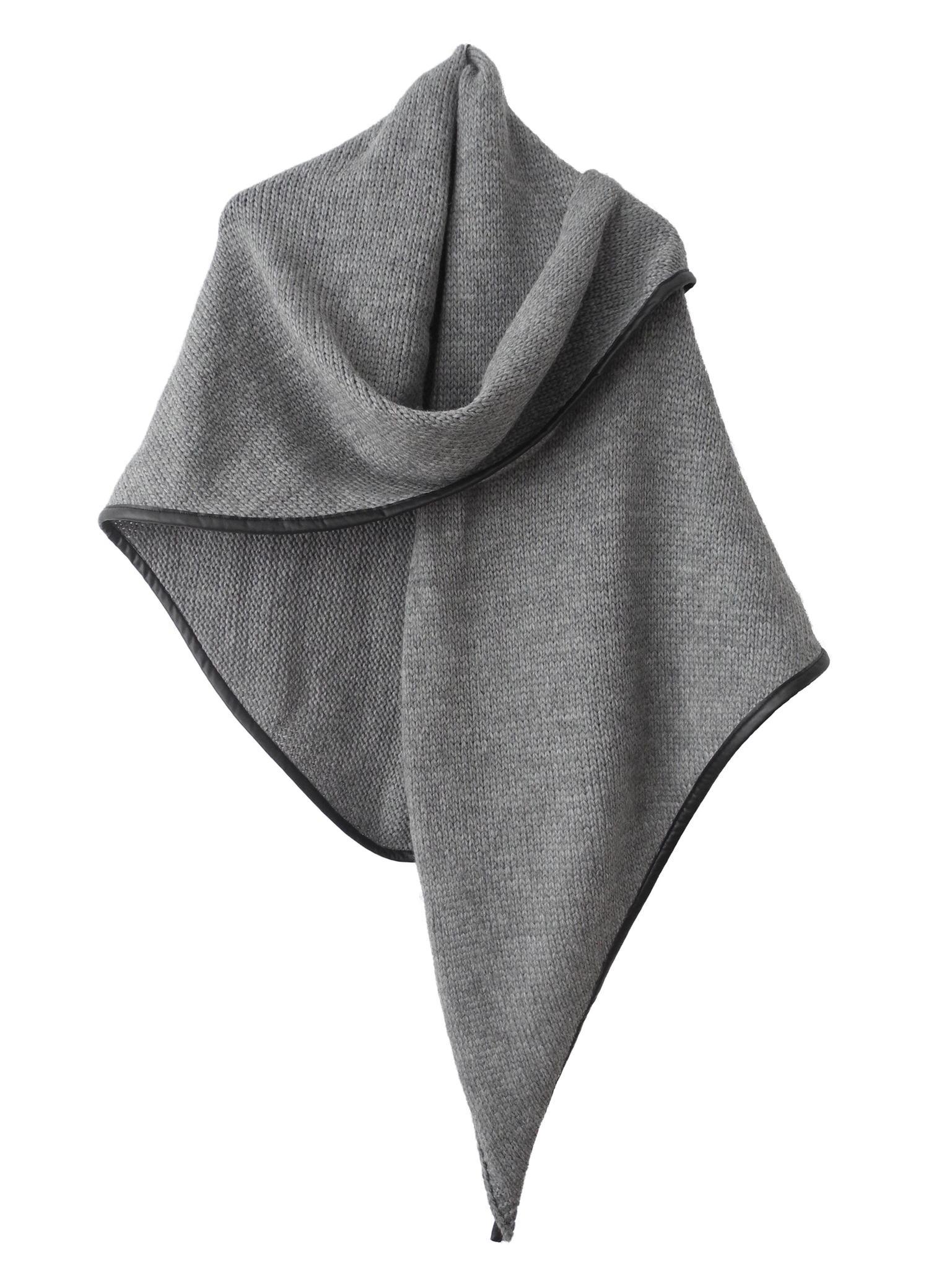 omslagdoek sjaalmania grijs