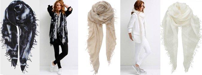NIEUW: De Cashmy sjaals van SjaalMania