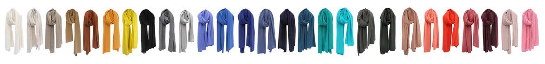 sjaals in alle kleuren