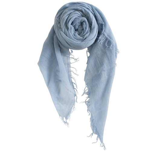 sjaal SjaalMania Cashmy Blue Skies