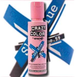 Crazy Color Sky Blue