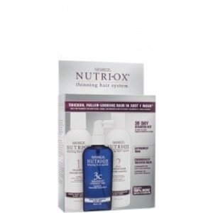 Nutriox Extremely Thinning Hair Kit Chemically