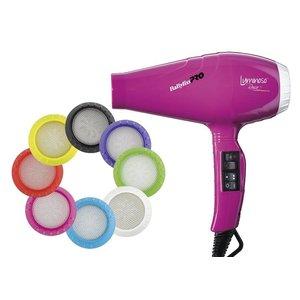 BaByliss Pro Fohn Luminoso Ionic Rosa BAB6350IFE