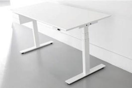 Hoogte verstelbaar bureau onderstel: milano zit sta bureau