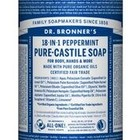 Dr Bronners Magic pure castile soap pepermunt 945ml