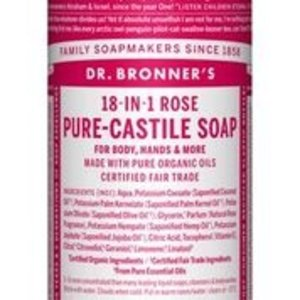 Dr Bronners Magic pure castile soap roos 475ml