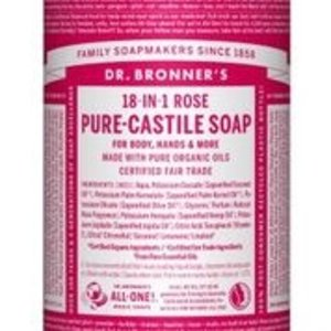 Dr Bronners Magic pure castile soap roos 944ml