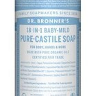 Dr Bronners Magic pure castile soap baby mild 475ml