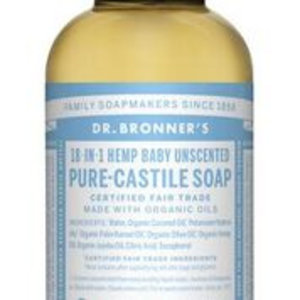 Dr Bronners Magic pure castile soap baby mild 60ml