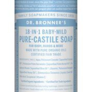 Dr Bronners Magic soap Baby-mild 240 ml