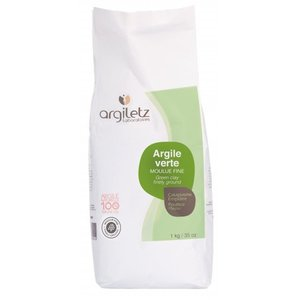 Argiletz GROENE KLEI SUPERFIJNE [GROEN], 1kg
