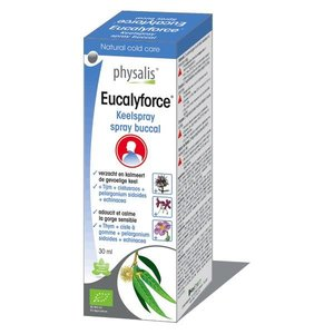 Physalis Eucylaforce keelspray 30ml