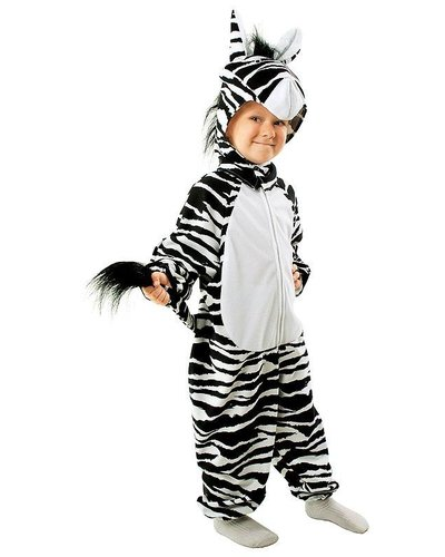 Magicoo Zebra Kostüm für Kinder