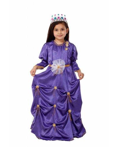 Magicoo Königin Kostüm Kinder lila violett
