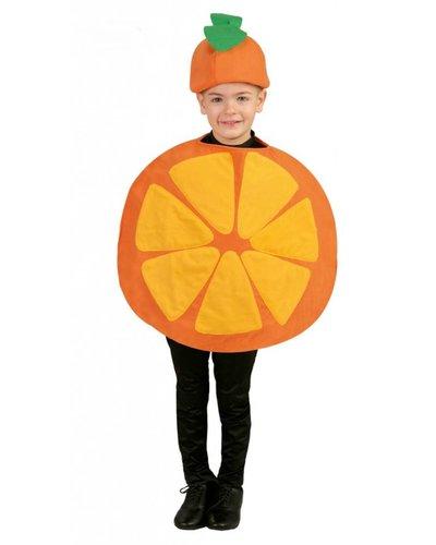 Magicoo Früchte Kostüm - Orangen Kostüm für Kinder