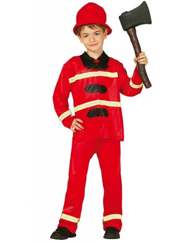 Magicoo Feuerwehr Kostüm Kind