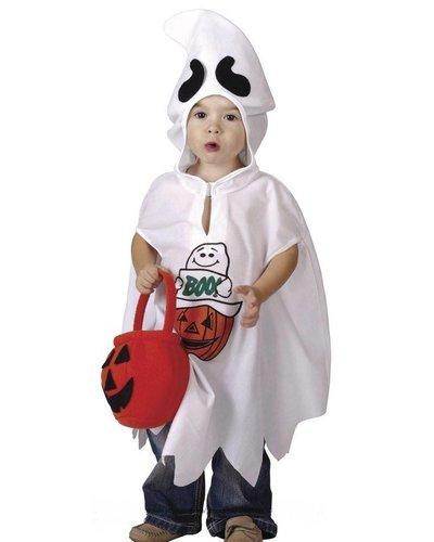 Magicoo Gespenst Kostüm für Kleinkinder Gr. 92-104