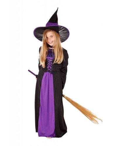 Magicoo Lila Hexenkostüm für Kinder