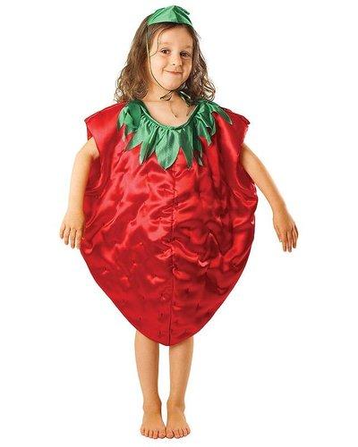 Magicoo Obstkostüm - Erdbeere Kostüm für Kind