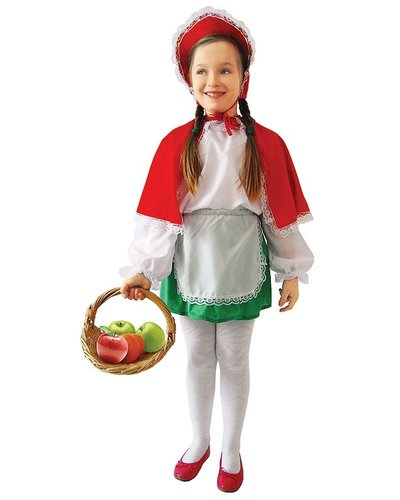 Magicoo Rotkäppchen Kinderkostüm