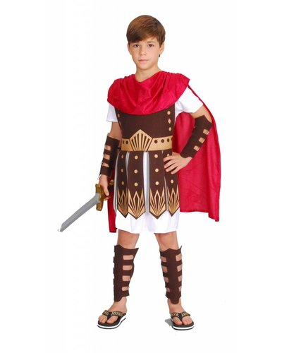 Magicoo Römer Kostüm für Kinder - Gladiator Kostüm Kinder