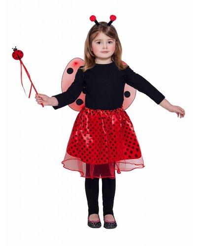 Magicoo Marienkäfer Kostüm für Kinder