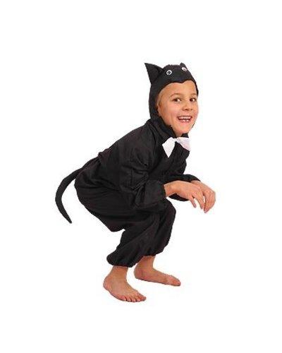 Magicoo Katzenkostüm für Kinder schwarz