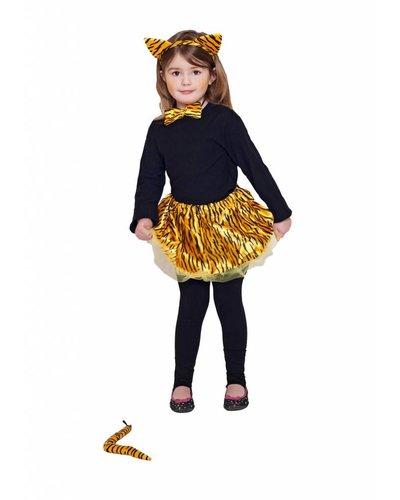 Magicoo Tigerkostüm Kinder - Tiger Set für Mädchen