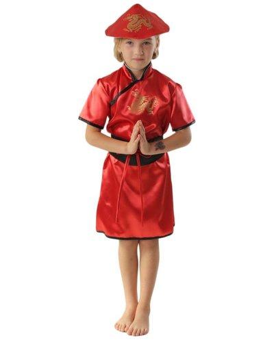 Magicoo Kinderkostüm Chinesin für Mädchen