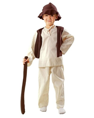 Magicoo Schäfer Kostüm Kinder Krippenspiel