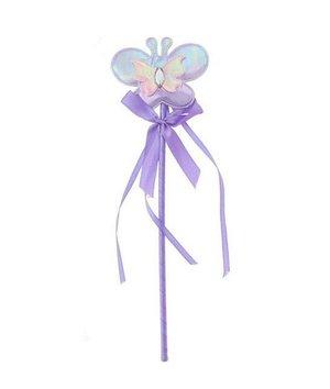 zauberstab lila lavendel farbe mit schmetterling magicoo. Black Bedroom Furniture Sets. Home Design Ideas