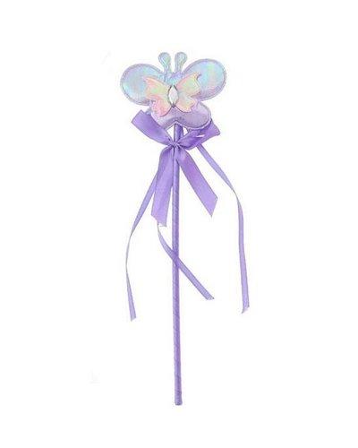 Magicoo Zauberstab lila lavendel Farbe mit Schmetterling