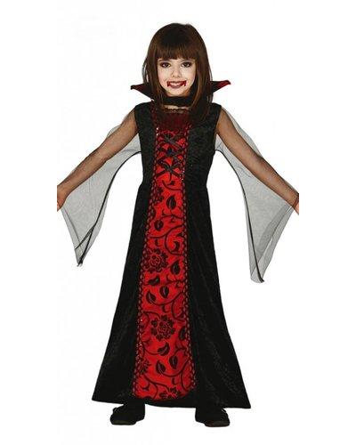 Magicoo Vampir Kostüm Dracula für Mädchen