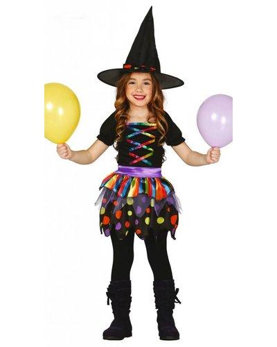 Magicoo Kinder Hexenkostüm Halloween